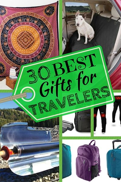 We're big believers in the old adage that experiences are far more valuable than material things. But we've also traveled enough to know that there are certain products that help make travel easier and more enjoyable. This year alone we've sampled over 100 different pieces of travel gear. What follows is our unbiased (i.e. unpaid) reviews of the 30 Best Gifts for Travelers broken down into sections that appeal to different budgets...
