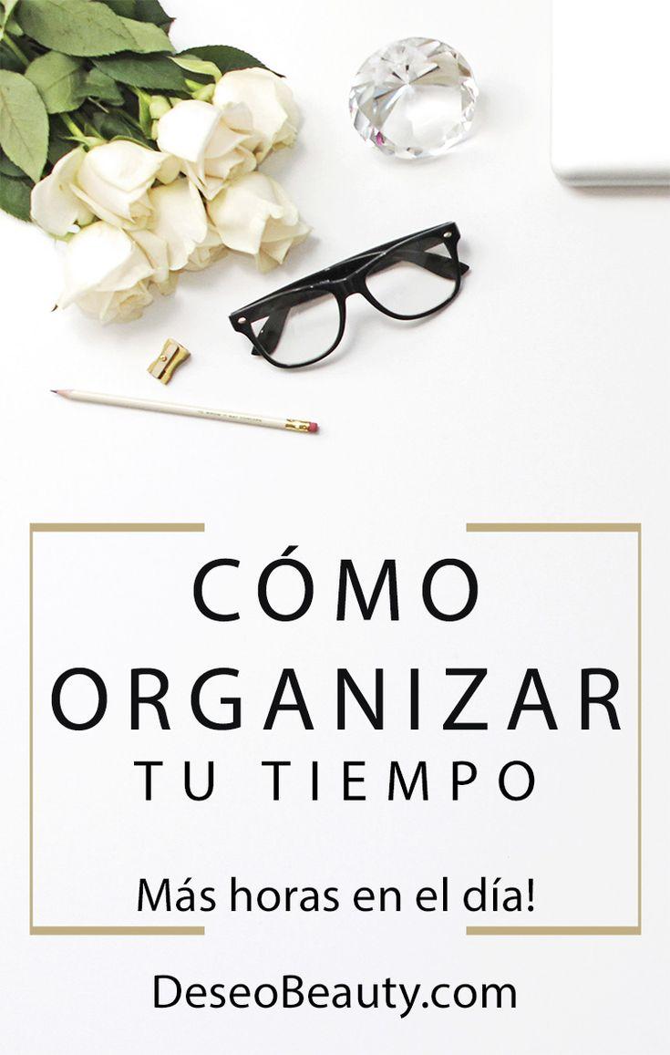 Cómo organizarse la vida cuando tienes un blog