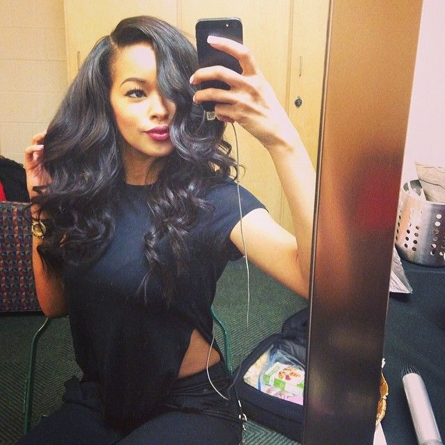 Astonishing 1000 Ideas About Sew In With Bangs On Pinterest Sew Ins Full Short Hairstyles Gunalazisus