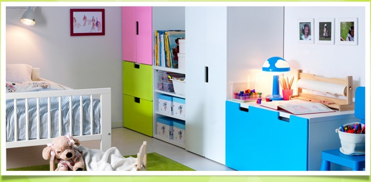 Babyzimmer Ikea Stuva | Beecie, Modern Dekoo