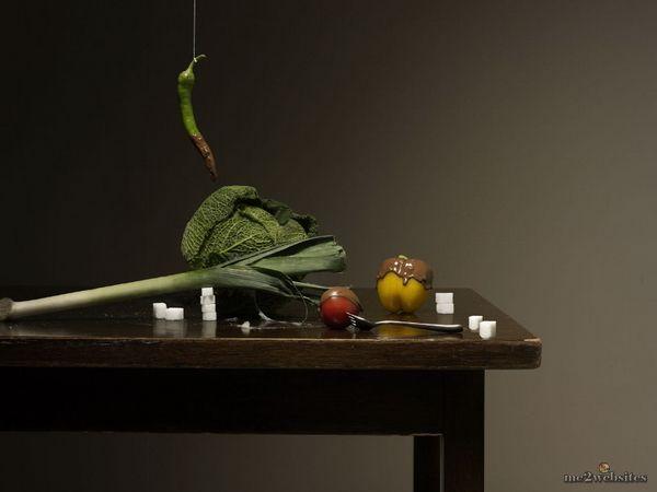 Шикарные натюрморты в фотографиях от Marcus Gaab - детальный полумрак