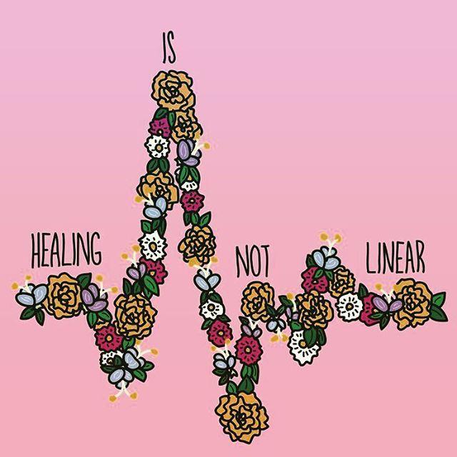 Healing is Not Linear.