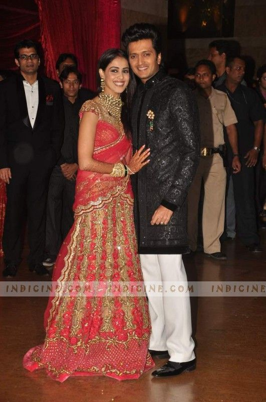 Genelia Marriage Reception Photos 17 Best images ...