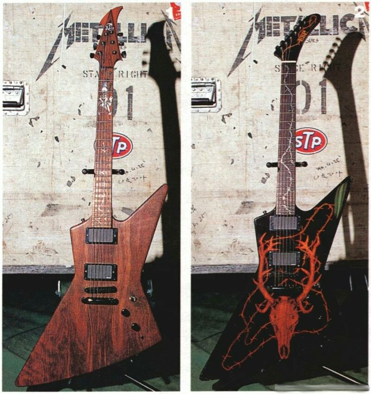 102 best james hetfields guitar collection images on pinterest guitar collection electric. Black Bedroom Furniture Sets. Home Design Ideas