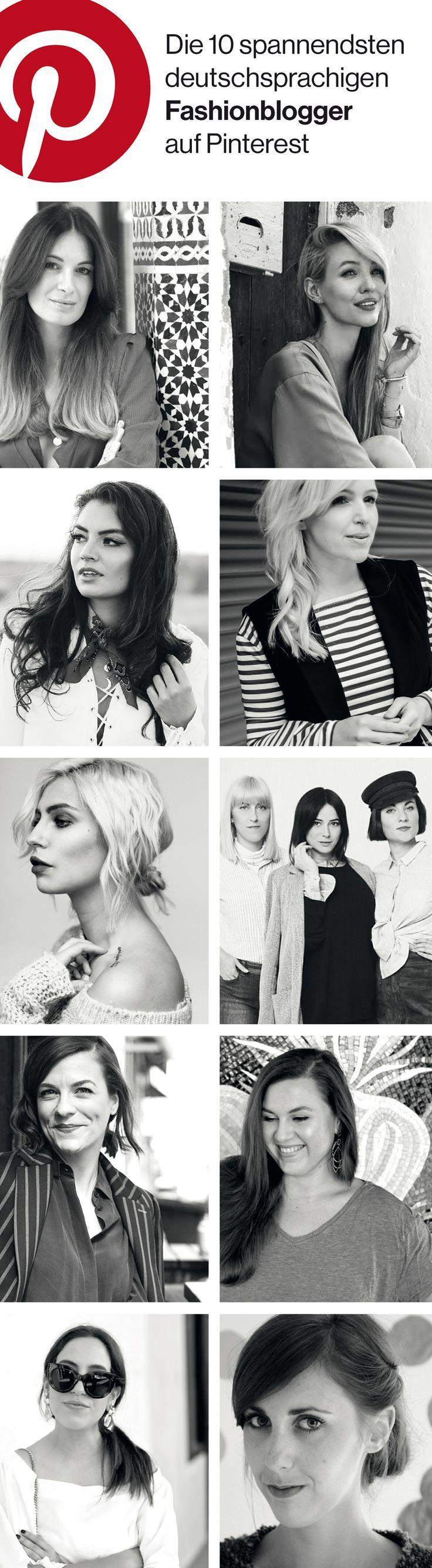 Die 10 spannendsten deutschsprachigen Fashionblogger auf Pinterest