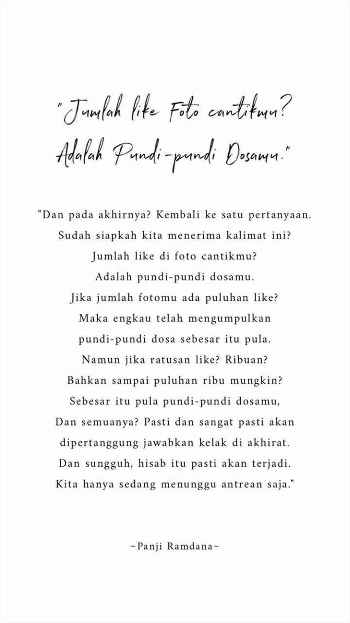 Pin Oleh Radiah Ardelia Di Quotes Kata Kata Indah Kutipan