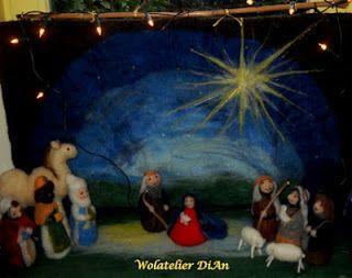 Weblog Wolatelier Dian: Kerststal en Kerstwensen