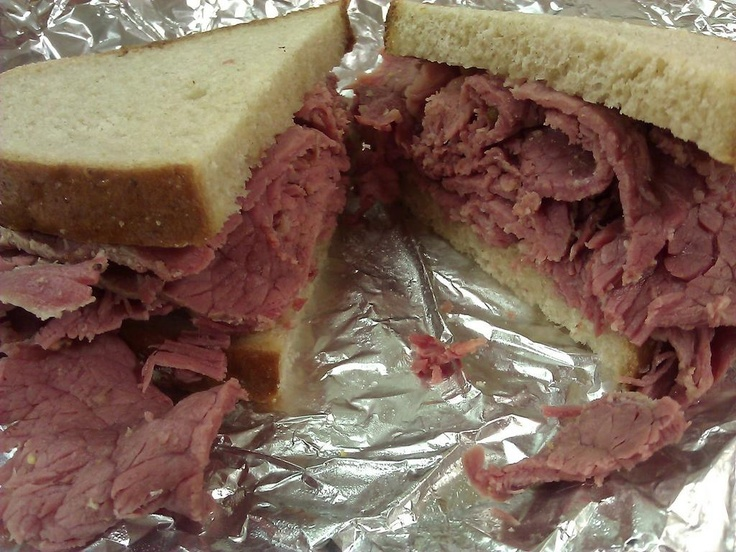 Heaven.....this is truly Heaven......Corned Beef on Rye from Willie's Deli in Closter, NJ