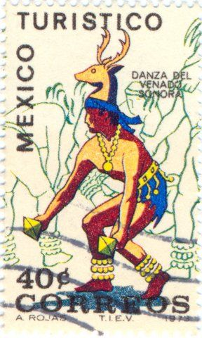 1973 Mexico - Indian deer hunting dance from Sonora