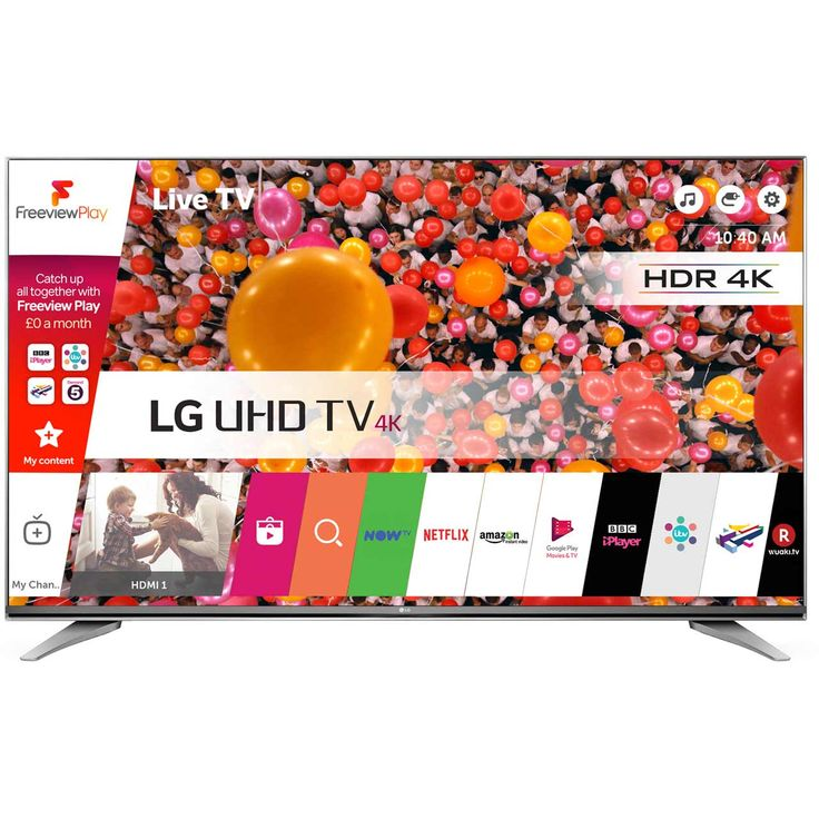 "LG 43UH750V 43"" Freeview HD Smart 4K Ultra HD with HDR TV Review"