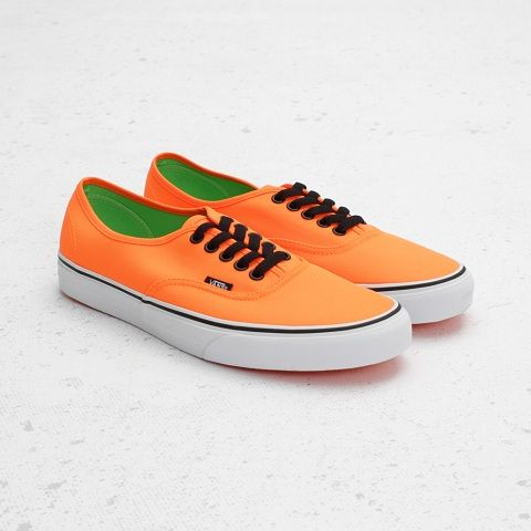 "Vans Authentic ""Neon Orange"""