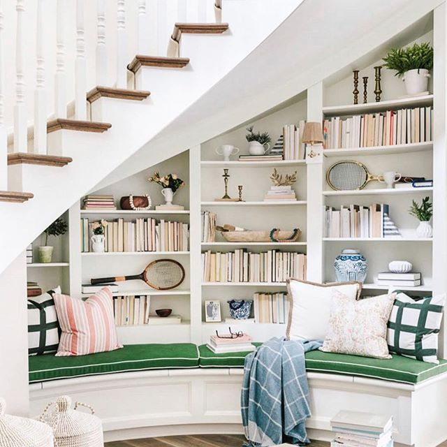 Kitchen Remodel The Reveal Stair Nook Home Library Home
