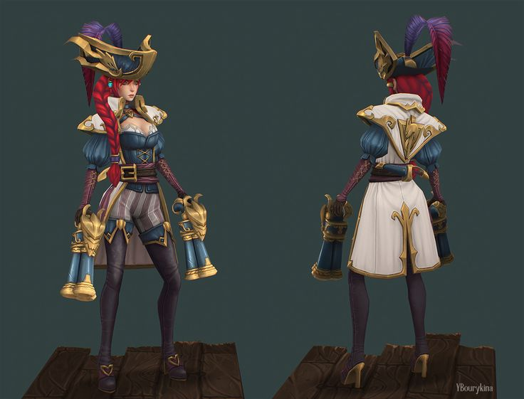 ArtStation - Captain Fortune, Yekaterina Bourykina