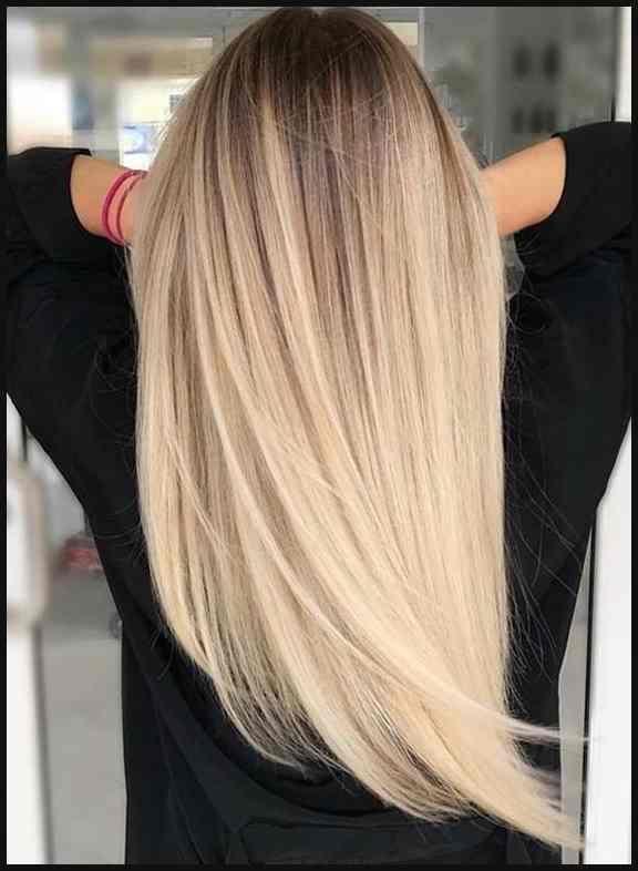 Haare balayage blond glatte 20 Beautiful