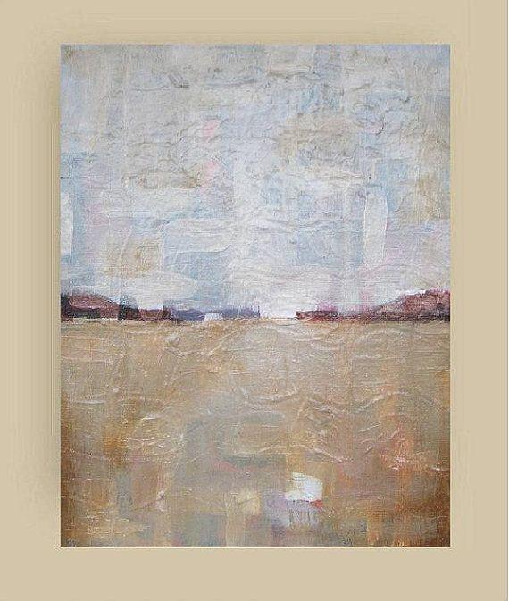 Whispering  Original acrylic painting  abstract by VESNAsART