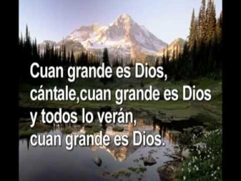 Cuan grande es Dios Hillsong - YouTube