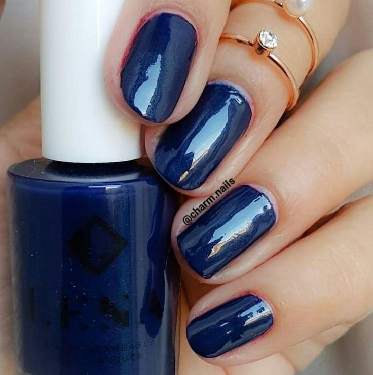 Breathable Halal Nail Polish - Istan-blue - LE139 by LENA