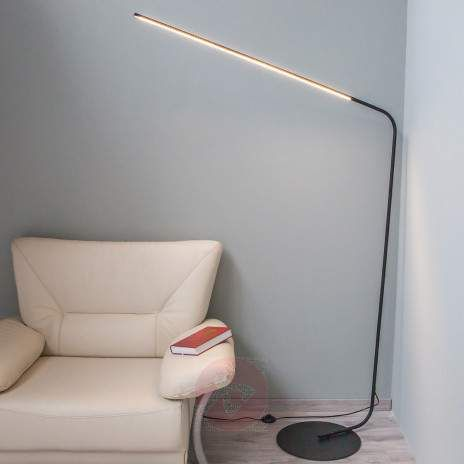 Svart LED-stålampe Mirca-9620255-22