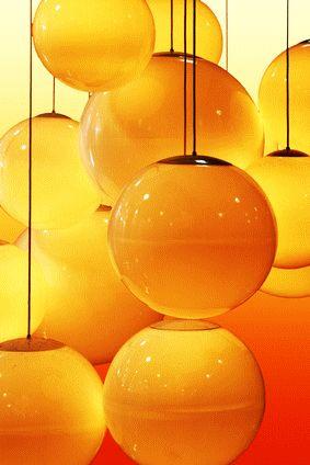 Orange Orange Orange! orange lights