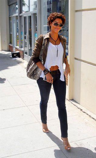 Nicole Murphy in Beverly Hills