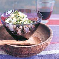 Pea-feta quinoa