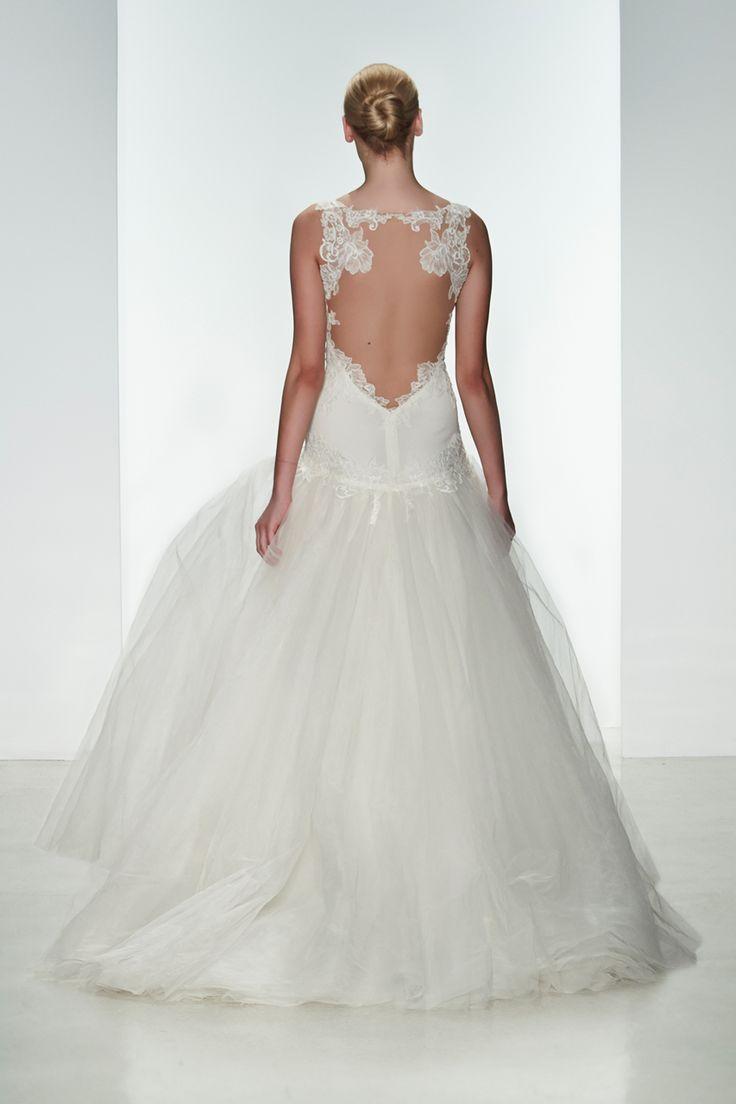 Wedding gown by Kenneth Pool