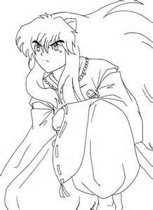 printable inuyasha coloring pages - photo#21