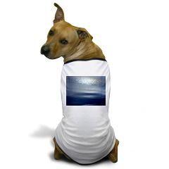 Dawn at sea Dog T-Shirt