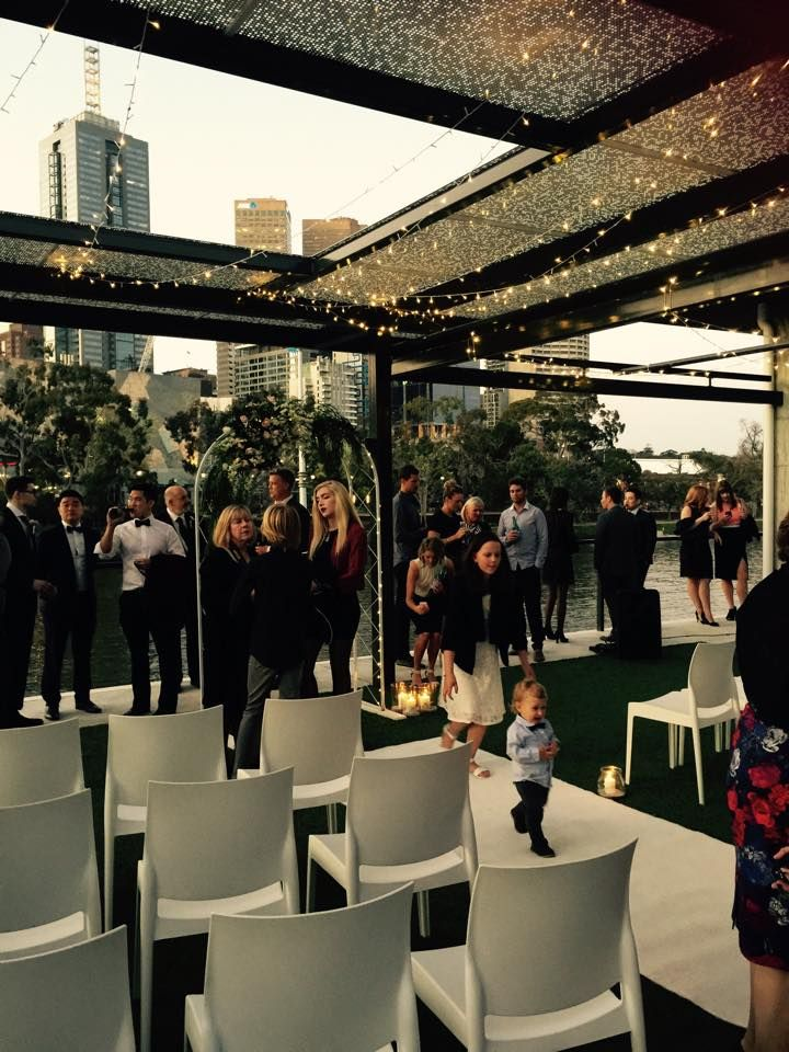Cnk Catering wedding ceremony at Richmond Rowing Club