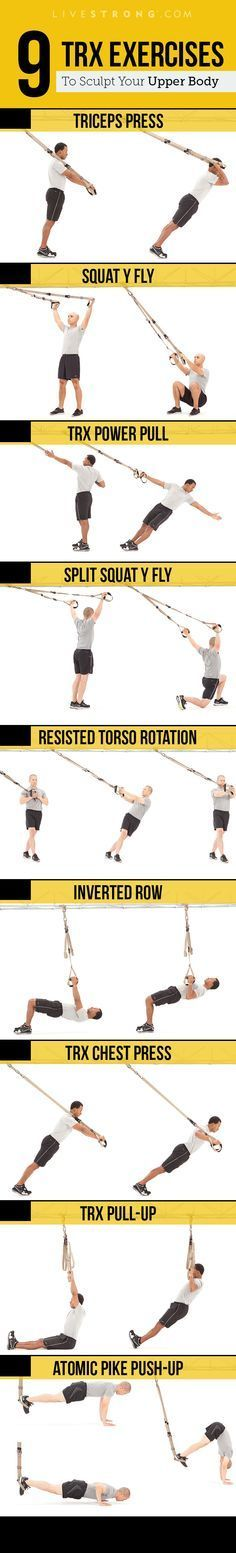 283 best grafic images on pinterest gym design gym interior and 9 trx moves to sculpt an insanely strong upper body fandeluxe Gallery