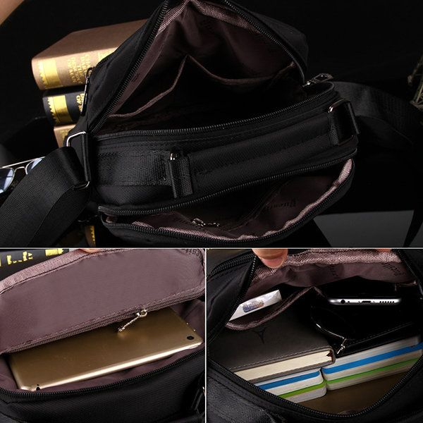 Oxford Vintage Casual Business Shoulder Crossbody Bag For Men is worth buying - NewChic