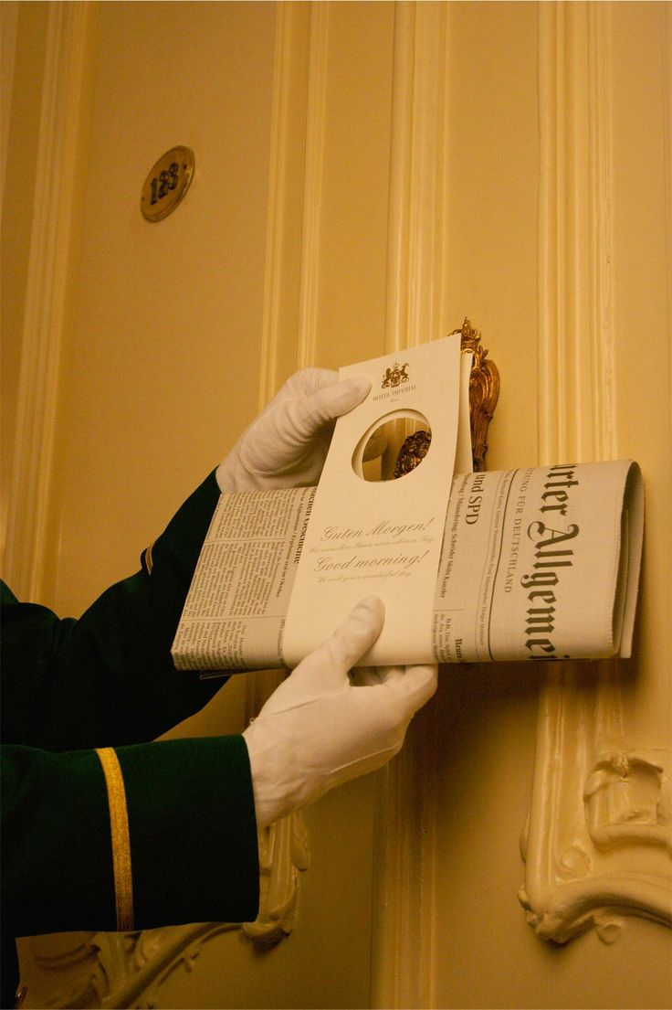 Hotel Imperial, Luxury Collection, Vienna - butler service