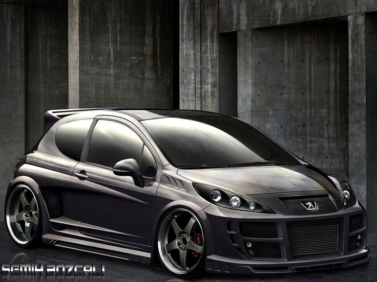 peugeot 207 front by sb on deviantart virtual tuning pinterest art. Black Bedroom Furniture Sets. Home Design Ideas