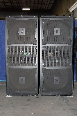JBL Vertec 4880 Sub Bass Line Array with covers and dolly's 8 - units for sale