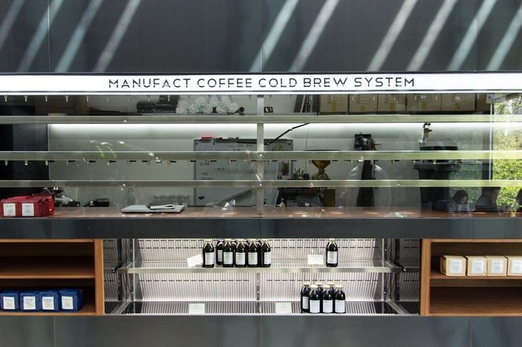 Manufact Coffee Roasters Apgujeong Queenmamamarket, Seoul Sinchon setup