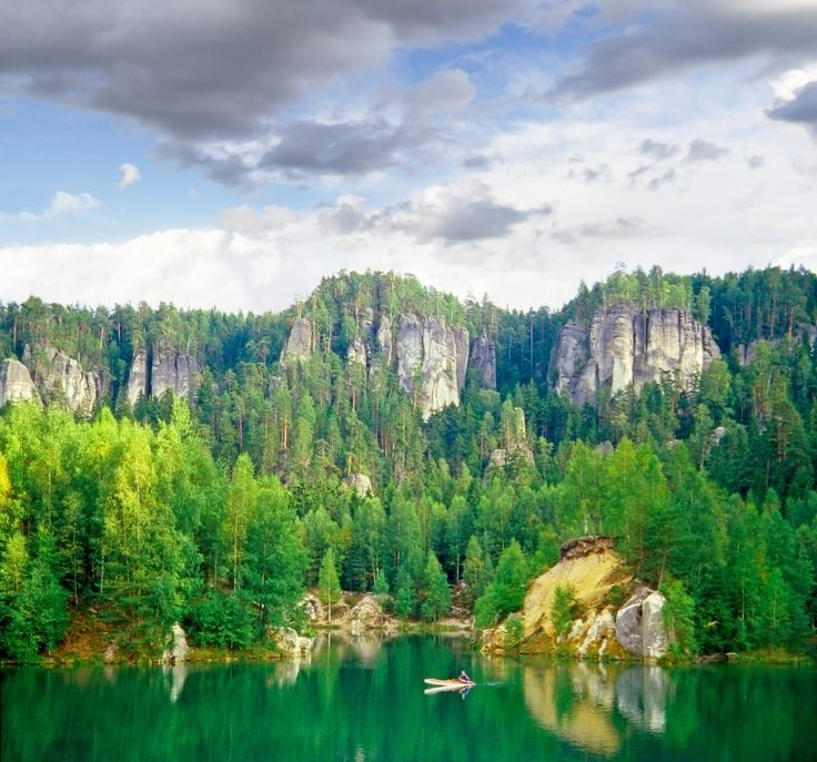 The Czech countryside is ripe with mountains and rivers to fulfill your wildest dreams.