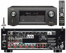 The Best Home Theater Receivers Priced from $400 to $1,299.: Denon AVR-X2200W In-Command Home Theater Receiver