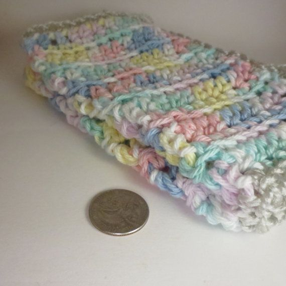 Crochet Dish Cloths Kitchen Washcloths Set Of by MorrellCreations