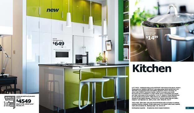 Kitchen, 2012 Ikea Kitchen Catalog Fresh Natural With Green Wall White Wall Cool Granite Countertop Design Ikea Kitchen Catalogue Kitchen Cabinet Design With Beautiful Kitchen Reviews Ikea Kitchen Catalogue: Getting The Best Inspirations To Remodel Kitchen From IKEA Kitchen Catalog