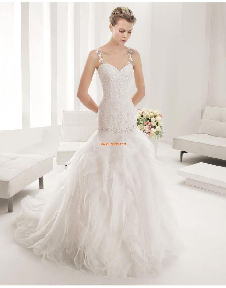 Robes de mariées avec boléros Sans manches Ruché Robes de mariée 2015