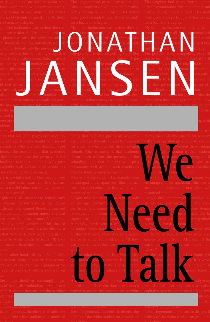We Need to Talk « Pan Macmillan