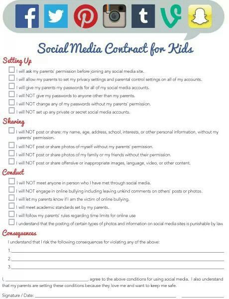 Image result for social media rules and consequences