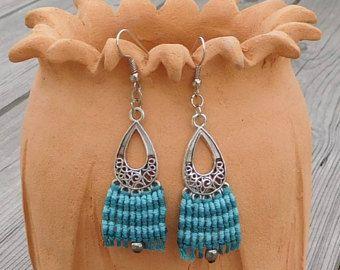 Macrame Earrings, Spring Earrings, Handmade Earrings, Spring Jewlery, Ethnic Earrings, Colourful Earrings, Festival Jewlery, Gift Jewlery -    Edit Listing  - Etsy