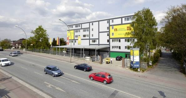 Self Storage facility in Hamburg Wandsbek
