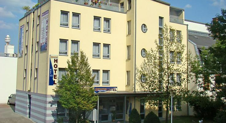 Senator Hotel Frankfurt am Main Situated close to restaurants and apple wine halls in the popular district of Sachsenhausen, close to Frankfurt city centre, this hotel offers self-catering rooms, a 24-hour reception and excellent transport links.
