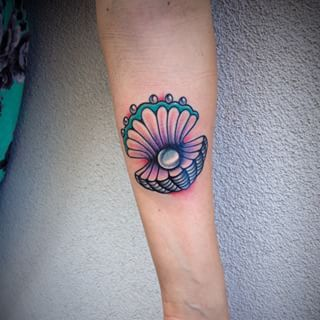 traditional seashell tattoo - Google Search