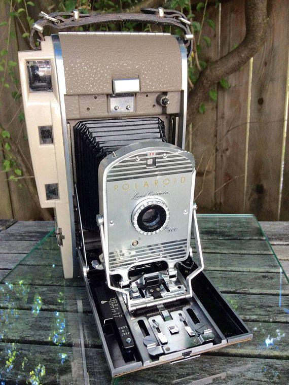 Fancy  Vintage Polaroid Land Camera Model