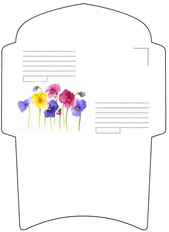 картинки конверты шаблоны его качестве может