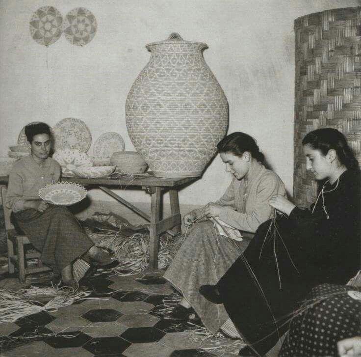 Cestinaie di Ittiri (Sassari) 1956 -