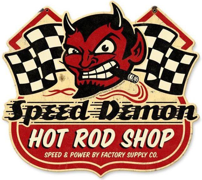 Vintage Hot Rod Signs 29